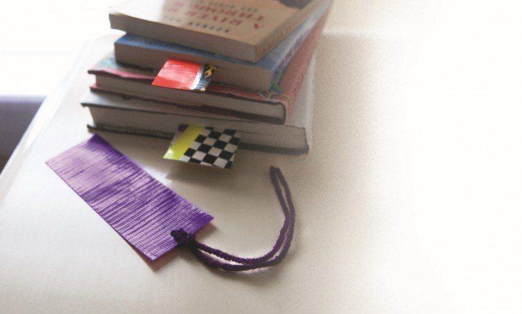 Duck Tape Book Mark