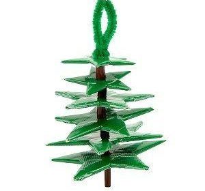 Duck Tape Christmas Tree Ornament