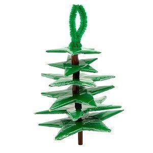 Duck Tape Christmas Tree Ornament