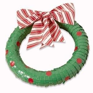 Duck Tape Christmas Wreath