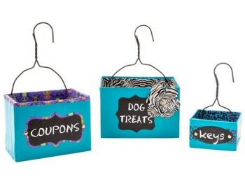 Duck Tape Hanging Boxes
