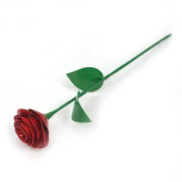 Duck Tape Rounded Petal Rose