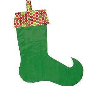 Duck Tape Stocking