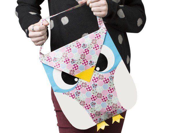 Owl Bag Ducktape Duck Colours